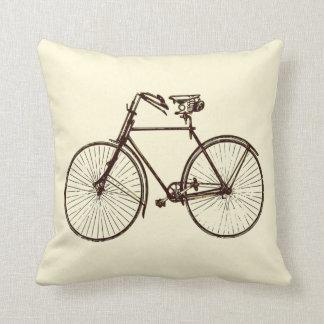 Coussin Carreau crème de bicyclette de farine d'avoine
