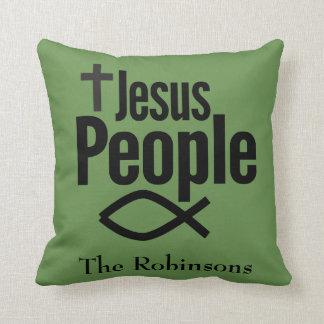 Coussin Carreau de chrétienne de personnes de Jésus