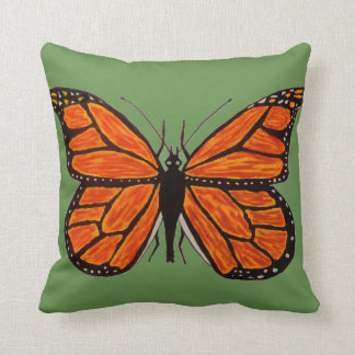 Coussin Carreau de papillon de monarque