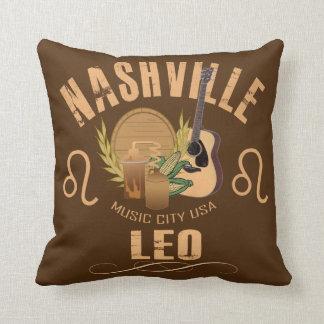 Coussin Carreau de zodiaque de Nashville Lion