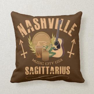 Coussin Carreau de zodiaque de Sagittaire de Nashville