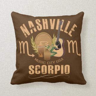 Coussin Carreau de zodiaque de Scorpion de Nashville