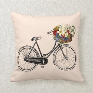 Coussin Carreau léger de fleur de bicyclette de quartz