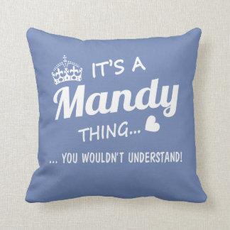 Coussin C'est une chose de Mandy