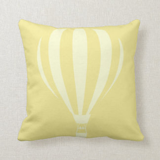 Coussin chaud de jet de ballon à air de citron