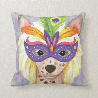 Coussin Chinois de mardi gras Crested
