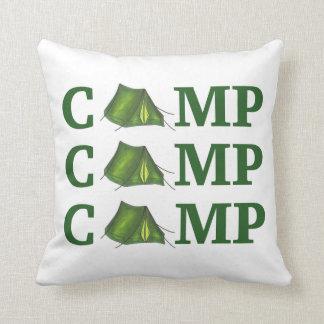 Coussin Colonie de vacances de tente de CAMP augmentant