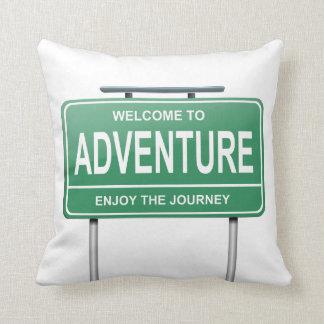 Coussin Concept d'aventure
