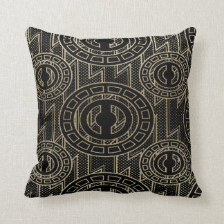 Coussin Conception africaine abstraite