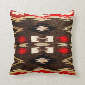 Coussin Copie tribale de conception de Navajo de Natif