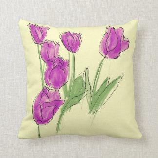 Coussin Correction de tulipe
