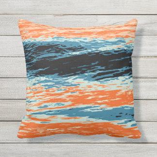 Coussin Coucher du soleil/océan/vague/mer
