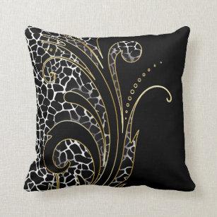 coussins motif exotique personnalis s. Black Bedroom Furniture Sets. Home Design Ideas