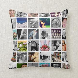 Coussin Créer-Votre-Propre carreau de collage de photo