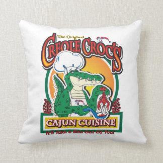 Coussin Crocodile créole de mardi gras de Cajun