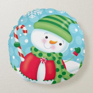 Coussin de bonhomme de neige