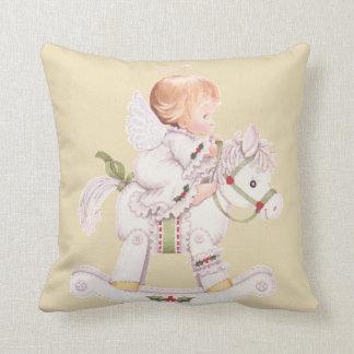 Coussin de cheval de basculage de bébé d'ange