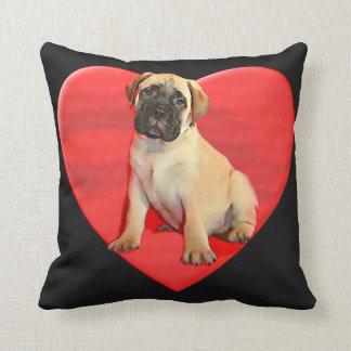 Coussin de chiot de Bullmastiff de Valentines