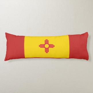 Coussin de corps de drapeau du Nouveau Mexique
