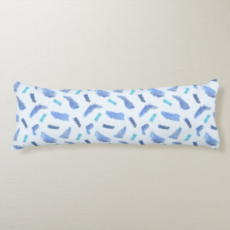 Coussin de corps de polyester balayé par taches