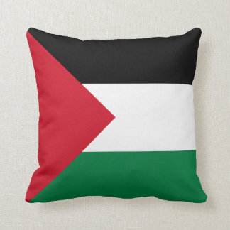 Coussin de drapeau de la Palestine