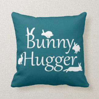 Coussin de Hugger de lapin (Teal)