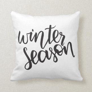 Coussin de la saison | d'hiver