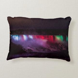Coussin de lumières de nuit de chutes du Niagara