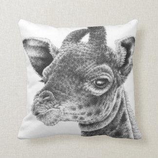 Coussin de MoJo d'Américain de girafe de bébé