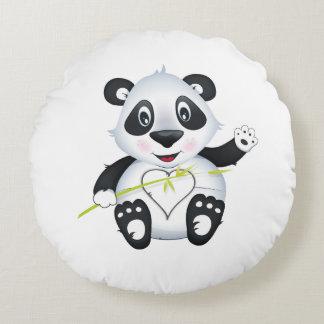 """Coussin de panda de """"petit de bébé joint d'amour"""""""