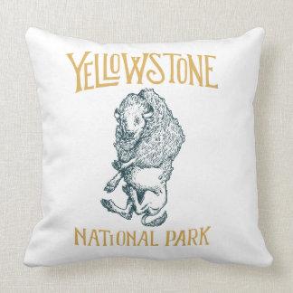 Coussin de parc national de Yellowstone