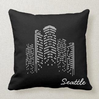 Coussin de paysage urbain de Seattle