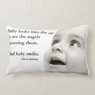 Coussin de sourires de bébé