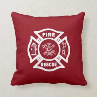 Coussin Délivrance du feu de sapeur-pompier