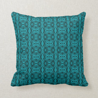 Coussin Dentelle turquoise