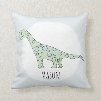 Coussin Dinosaure de griffonnage de bébé avec la crèche