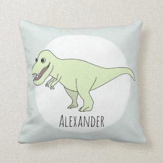 Coussin Dinosaure de T-Rex de griffonnage de bébé avec la