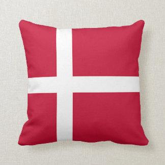 Coussin Drapeau du Danemark - croix scandinave
