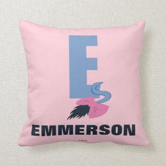 Coussin E est pour Eeyore | ajoutent votre nom