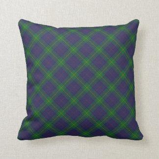 Coussin écossais de sofa de tartan de clan de