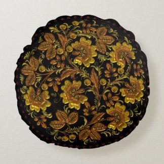 Coussin élégant floral vintage