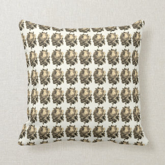 Coussin Elegant-Home-Accent_Sepia-The-Golden-Era--Roses_