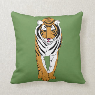 Coussin Élégant le tigre