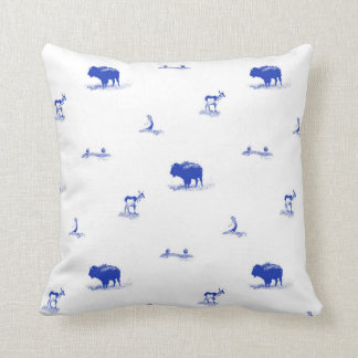 Coussin Faune Toile