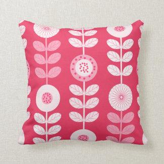Coussin floral de motif de la chambre à coucher de