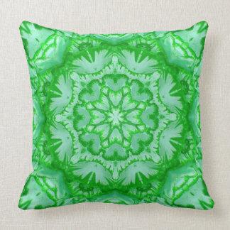 Coussin Floral victorien vert et vert en bon état
