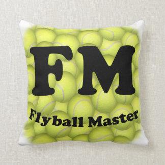 Coussin FM, maître de Flyball