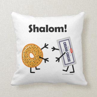 Coussin Fromage de bagel et fondu - Shalom !