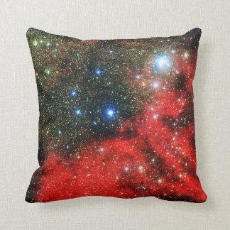 Coussin Galaxie époussetée par or de Falln