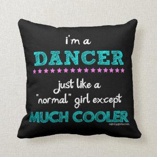 Coussin Golly filles - je suis un danseur